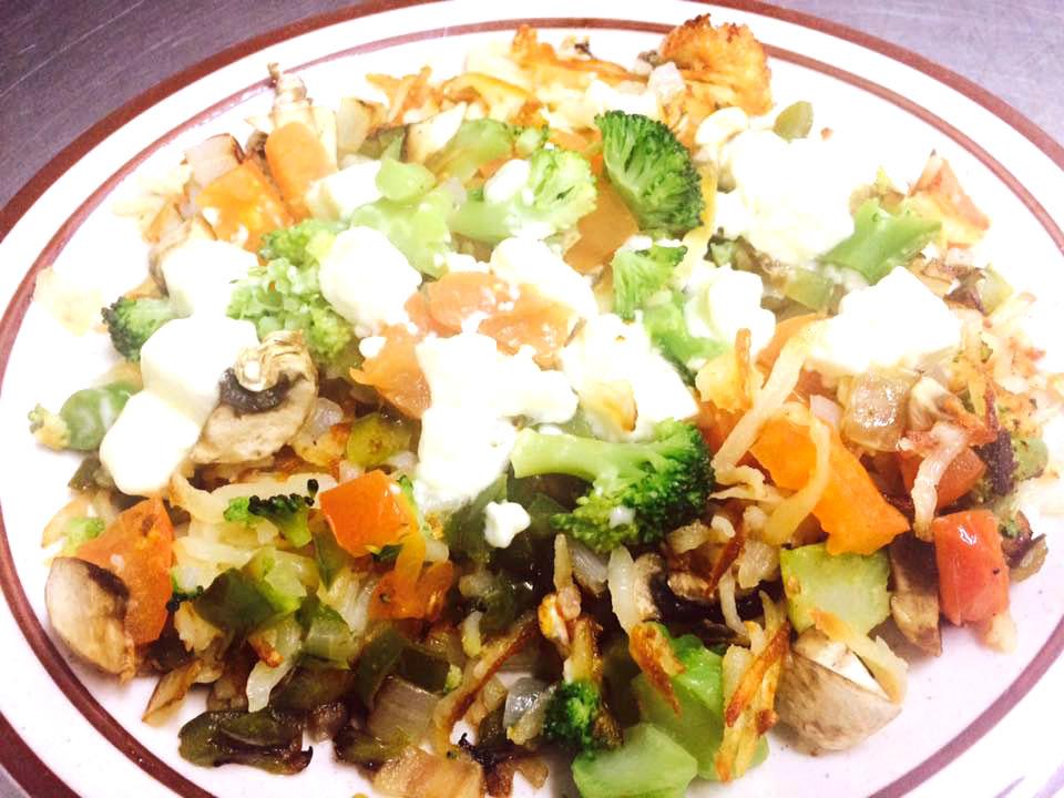 Hippy Hash Omelette